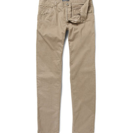 Dolce & Gabbana - Slim-Fit Cotton Trousers