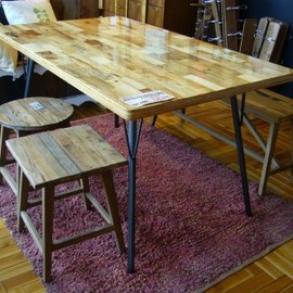 ACME - DRIFTWOOD DINING TABLE