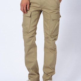 Levi's - 505 Commuter Cargo Pants-  Harvest Gold