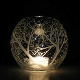 daydreemdesigns - Snowflakes and Branches Candle Holder