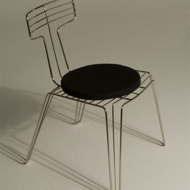 Tom Dixon - Wire Dining Chair Stainless Steel