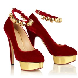 Charlotte Olympia - Jingle bell dolly pump