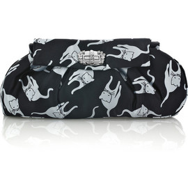 miu miu - cat print clutch