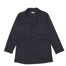 ENGINEERED GARMENTS - Shop Coat-Lt.Weight High Count Twill-Dk.Navy