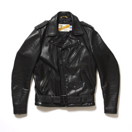 Shott - Leather Zip Up Riders Jacket (Perfecto)