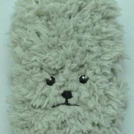 KEORA KEORA - toy poodle iphone cover(グレー)