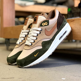 NIKE, BespokeIND - Air Max 1 - Duck Canvas Custom