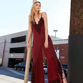 Nasty Gal - Nasty Gal Lace of the Ex Jumpsuit
