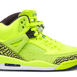 Nike - NIKE JORDAN SPIZIKE BHM VOLT/BLACK-PHOTO BLUE