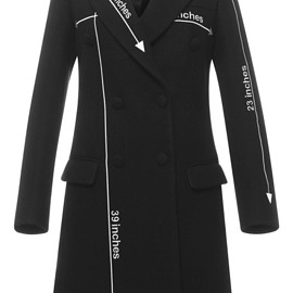 MOSCHINO - Pre-Fall 2015 Double Breasted Atelier Coat