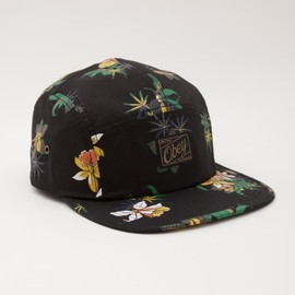 OBEY - SATIVA FLORAL 5 PANEL HAT
