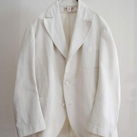 LILY1ST VINTAGE - 1920's vintage french linen tailored jacket