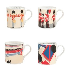 London Transport Musium - Mug Set of 4 Trooping the Colours