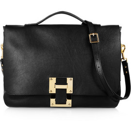 Sophie Hulme -  Soft Flap leather satchel