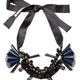 MARNI - Resin And Ribbon Necklace