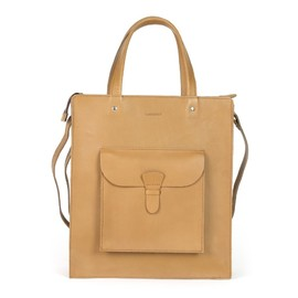 SANDQVIST - Christian Brown leather tote