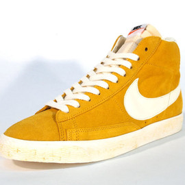 Nike - NIKE BLAZER HIGH SUEDE VINTAGE QS 「LIMITED EDITION for NON FUTURE」 YEL/WHT