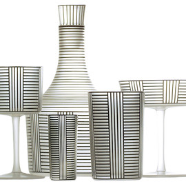 corning tumblers by peter rath & monica flood
