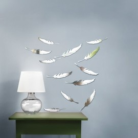 umbra - Umbra Quill Wall Décor, Clear