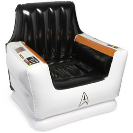 ThinkGeek - Star Trek Inflatable Captain's Chair