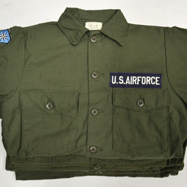 US Air Force - L/S 2Pocket Utility Shirt/Deadstock