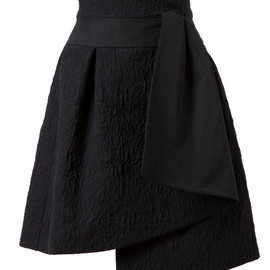 FENDI - Textured Cotton Jacquard Skirt
