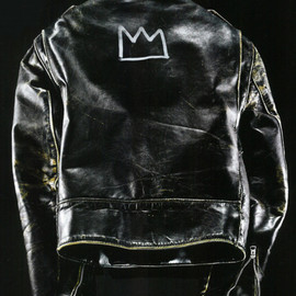 Jean-Michel Basquiat - Schott leather jacket customized by Jean-Michel Basquiat in the 1980s.