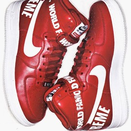 Nike x Supreme - Air Force 1 Hi