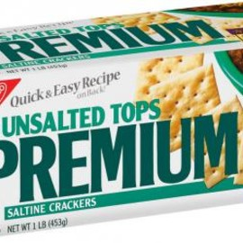 Nabisco - Unsalted Premium Saltine Crackers