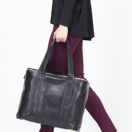 Pierre Hardy - Pierre Hardy Large Cubic Bag (Black Leather)