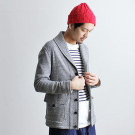 HAVERSACK - TOP YARN REVERSE JACKET