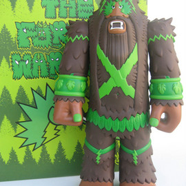 bigfoot - The Forest Warlord - Brown Edition