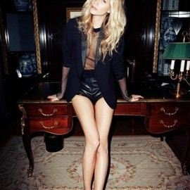 style icon - Poppy Delevingne for Madame Figaro