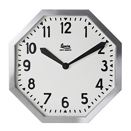LOWIS INDUSTRY - LOWIS INDUSTRY OCTAGON CLOCK