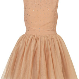 TOPSHOP - Diamante Tulle Prom Dress By Dress Up Topshop**