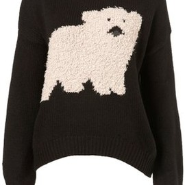 TOPSHOP - Polar Bear Motif Sweater