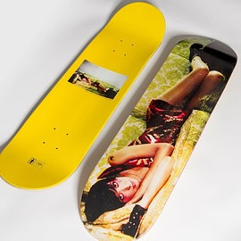 GIRL SKATEBOARDS - Photos by Spike series. 5 of 5/ Karen O, 2004  In stores March 7th.