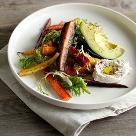アボカドのお料理 - elorablue:Roasted Carrot Salad With Avocado