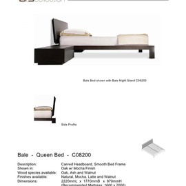 6t9 collection - Bale Queen Bed