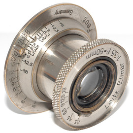 Leitz - nickel Elmar 50mm / f3.5