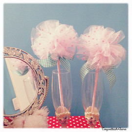 Coquettish*Tiara - Cotton candy