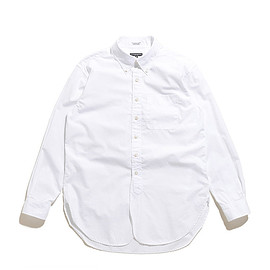 ENGINEERED GARMENTS - 19th BD Shirt-100's 2ply Broadcloth-White