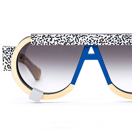 nina mûr designs - wooden ettore sottsass-patterned eyewear