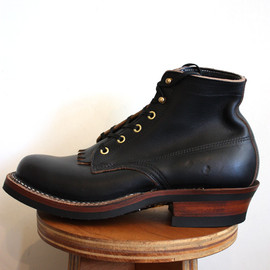white's boots - semi-dress black chrome excel by horween