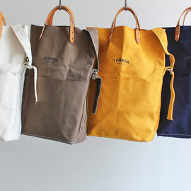 TEMBEA BAGUETTE TOTE - VEGETABLE DYE