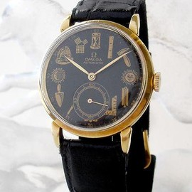 OMEGA - 1947 s OMEGA MASONIC WATCH