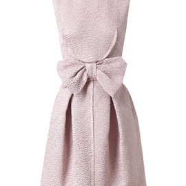 NINA RICCI - SILK-BLEND CLOQUE DRESS