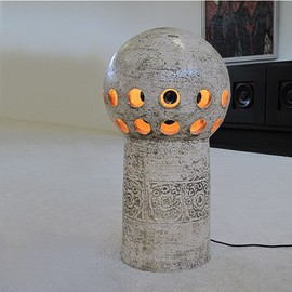 Industrial metal lamp