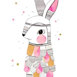 PrintMr. Feathered Rabbit // Limited Edition | Laura Blythman