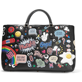 ANYA HINDMARCH - Ebury Maxi All Over Stickers leather tote